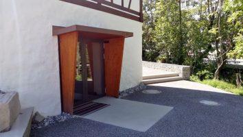 Eingang zum Höfner Säli