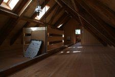 Räume im Dachgeschoss